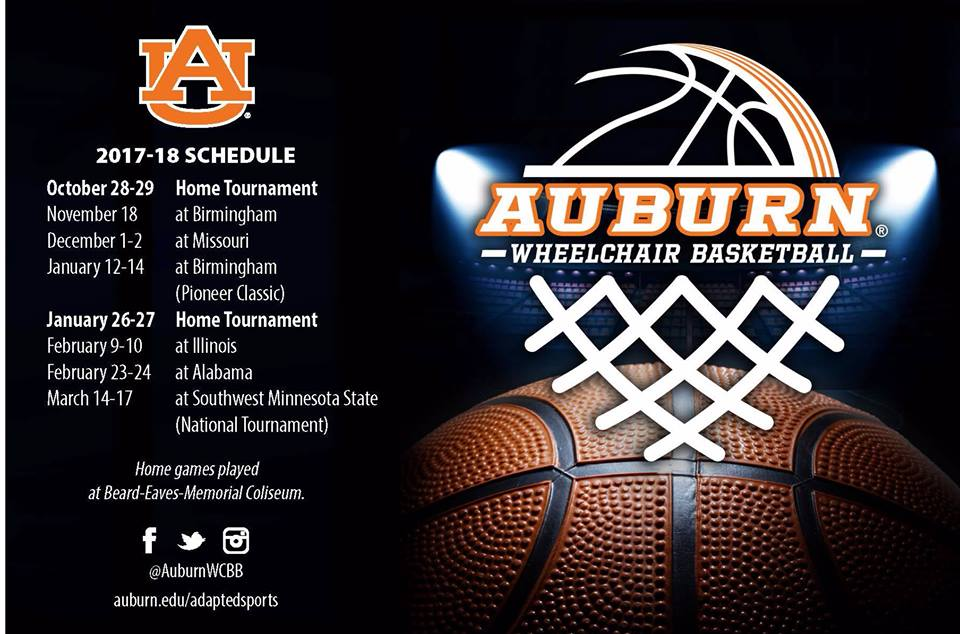 Auburn Wheelchair Basketball