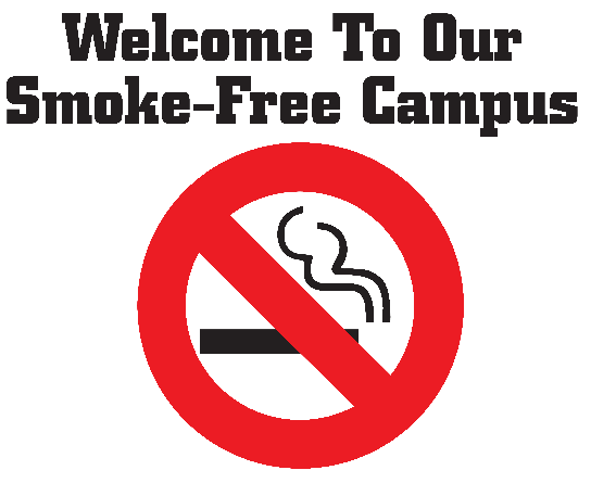 Welcome To Our Smoke-Free Campus