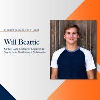 Student Research Spotlight – Will Beattie