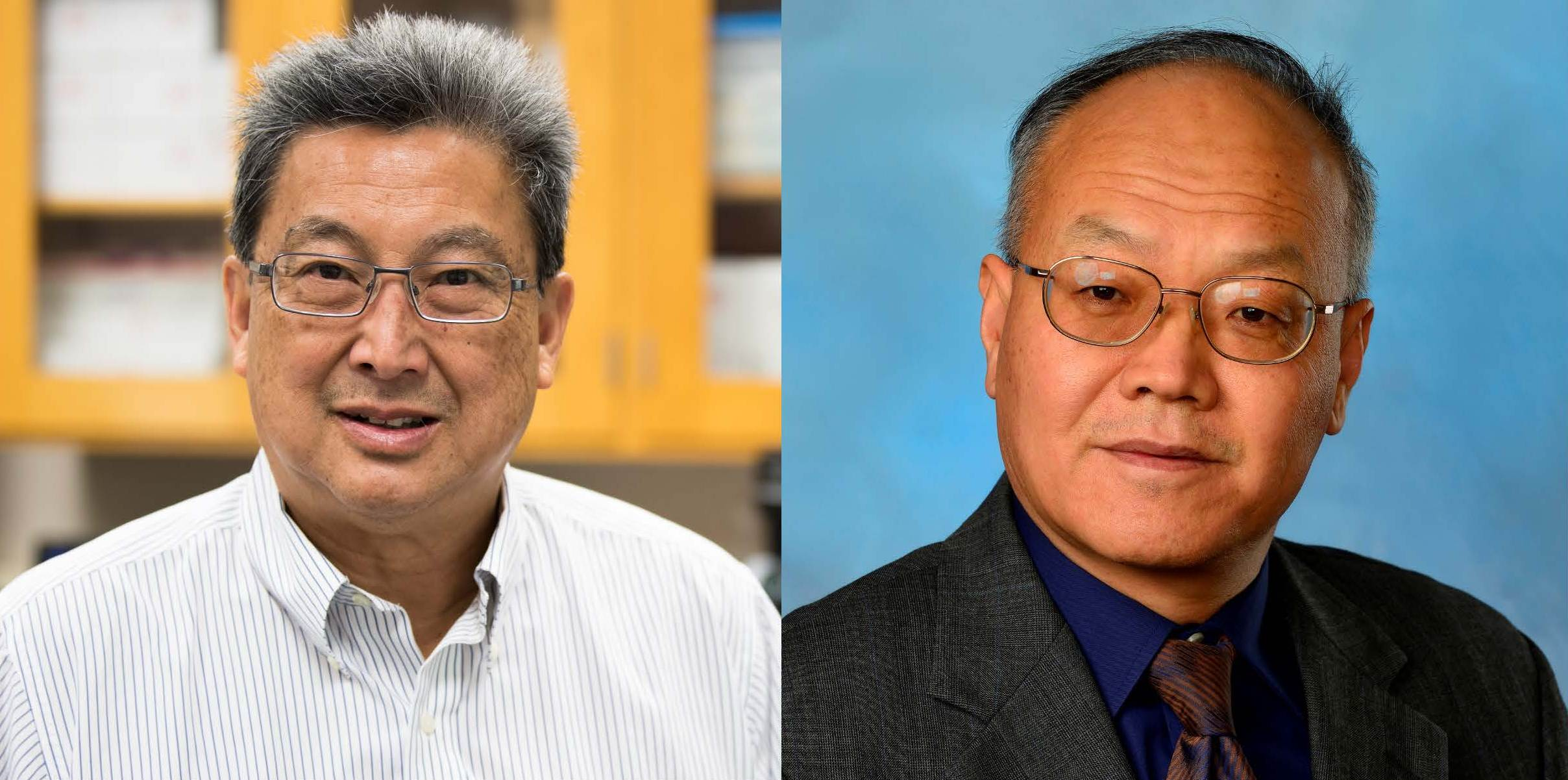 from left: Dr. Bryan Chin, Dr. ZhongYang Cheng