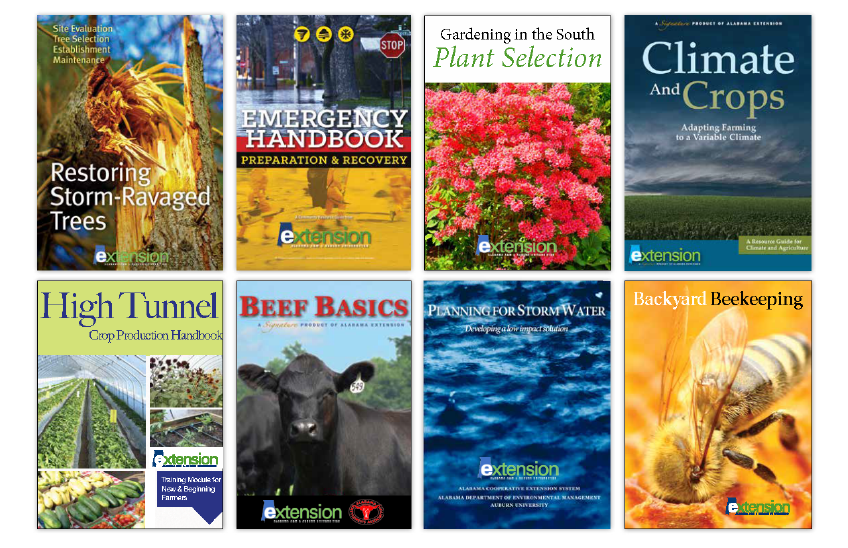 Alabama Extension Book Covers