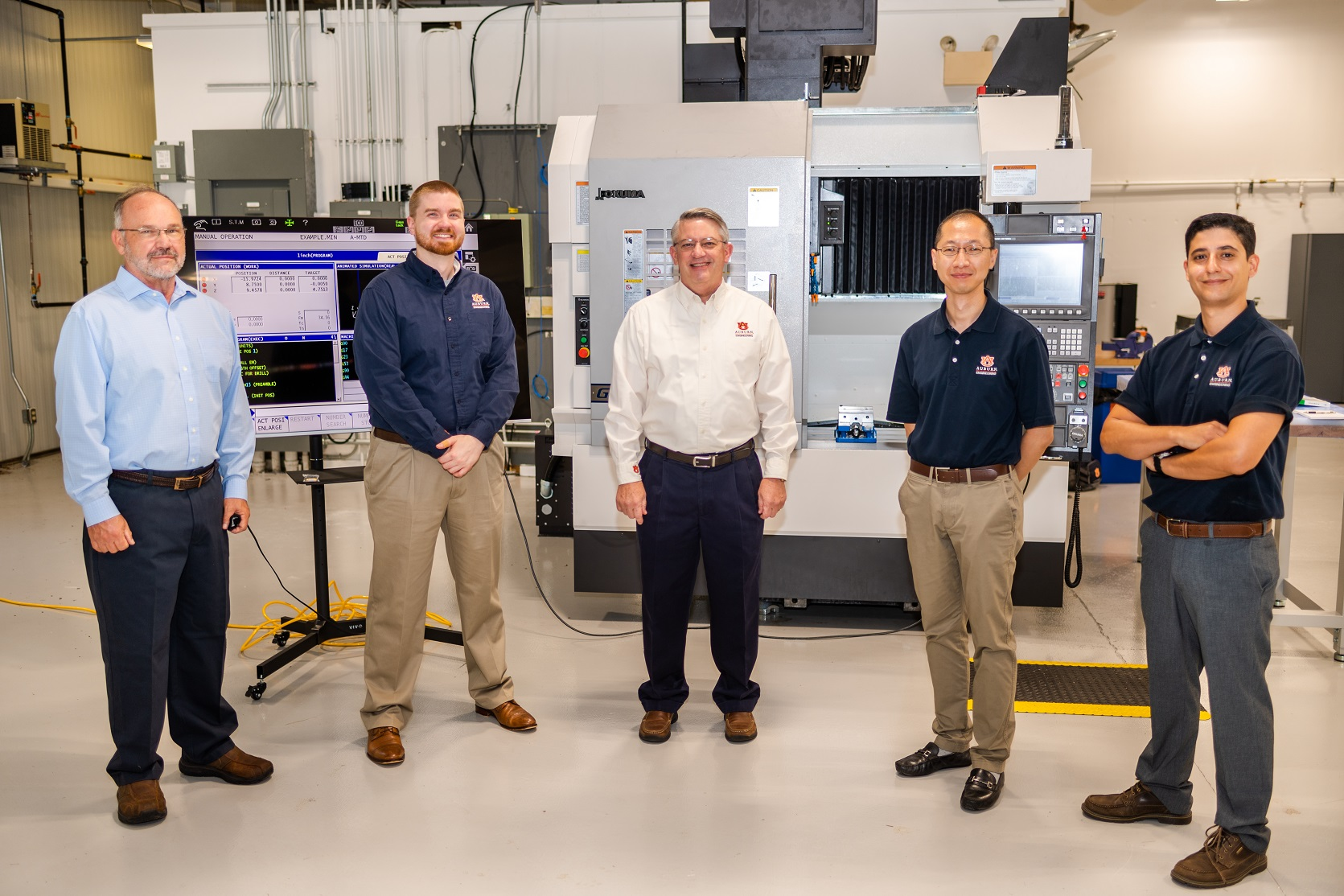 The Interdisciplinary Center for Advanced Manufacturing, or ICAMS, at Auburn University, housed within the Department of InLewis Payton; Greg Purdy; Greg Harris; Peter Liu; and Konstantinos Mykoniatis