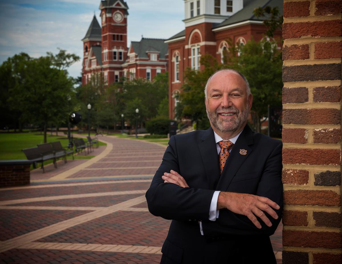 Auburn University President, Dr. Steven Leath