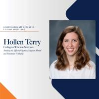 Undergraduate Research Fellow Spotlight - Hollen Terry