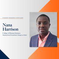 Student Research Spotlight – Nana Harrison