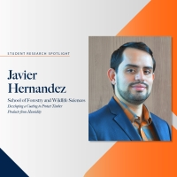 Undergraduate Research Fellow Spotlight - Javier Hernandez