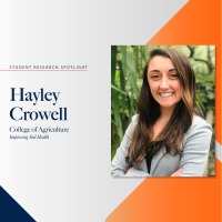Haley Crowell research spotlight profile