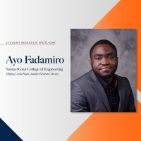 Ayokunle Fadamiro student research spotlight