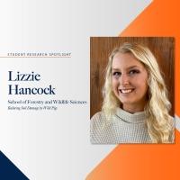 Lizzie Hancock student research spotlight