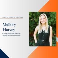 Mallory Harvey student research spotlight