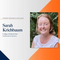 Sarah Krichbaum student research spotlight