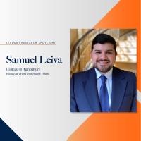 Samuel Leiva student research spotlight