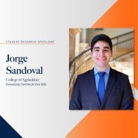 Jorge Sandoval student research spotlight