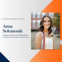 Anna Solomonik research spotlight profile