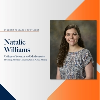 Natalie Williams student research spotlight