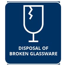 Disposal of Broken Glassware