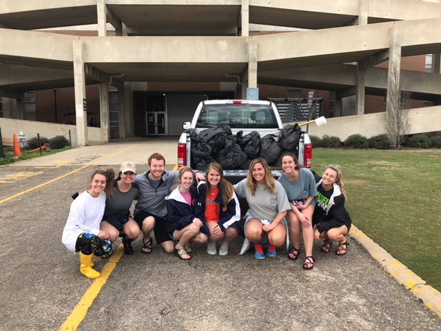 2018 Parkerson Mill Creek Clean Up