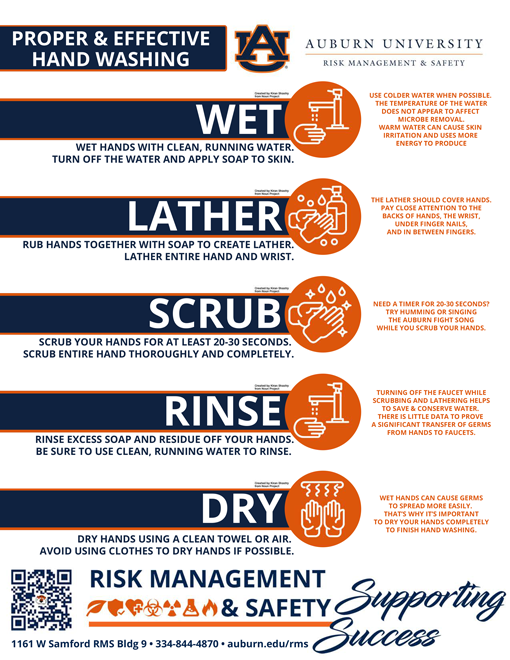 RMS Hand Washing Flyer