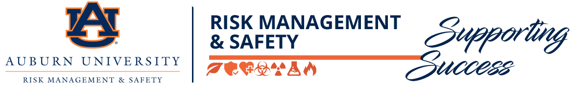 Auburn University Risk Management and Safety Logo and Branding
