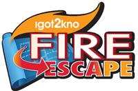 Igot2kno Fire Escape logo