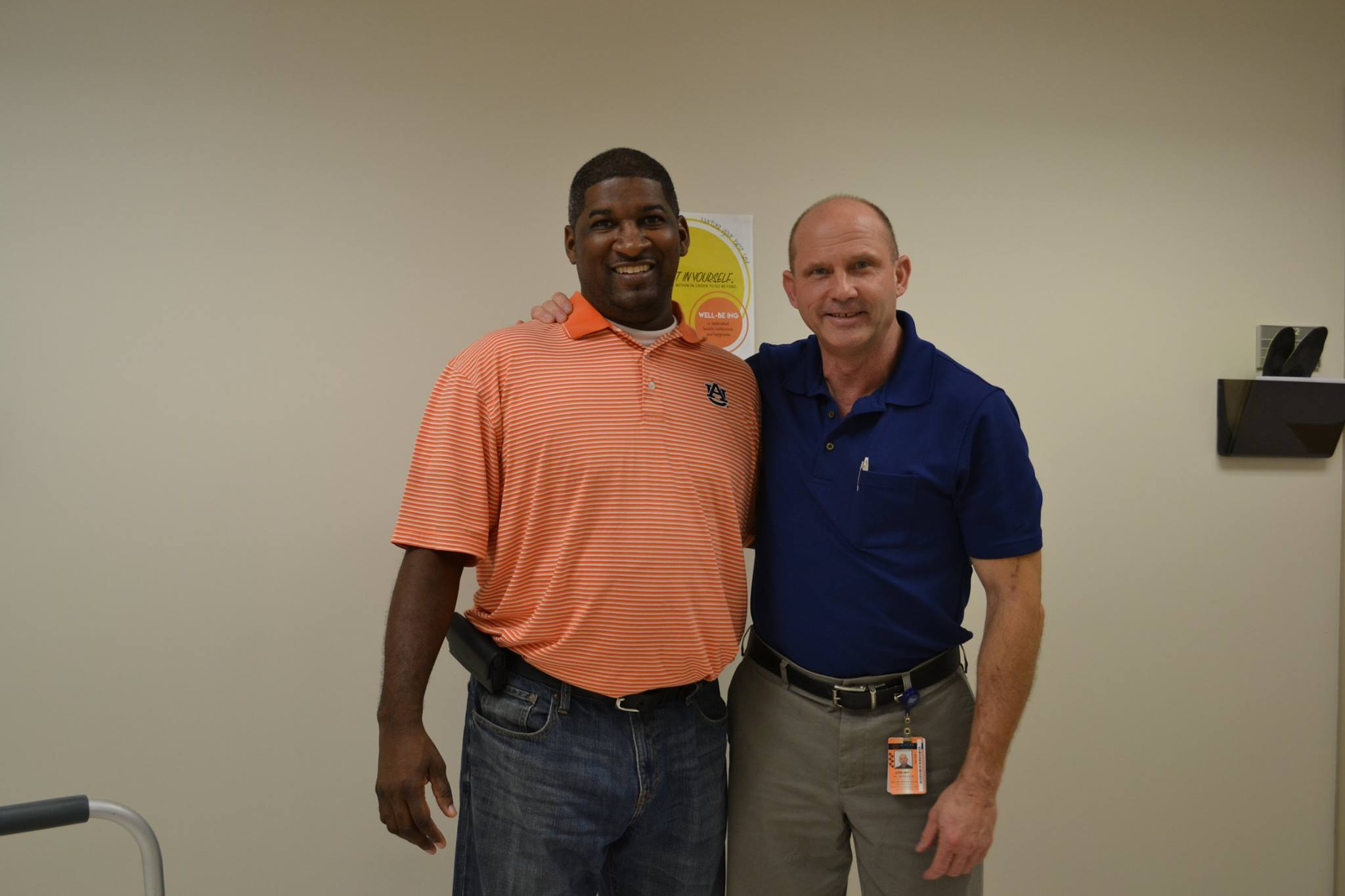 Coach Edwards and Dr Miller