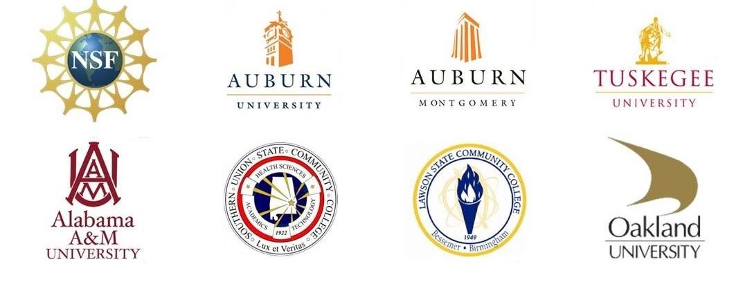 S-STEM Insititution Logos