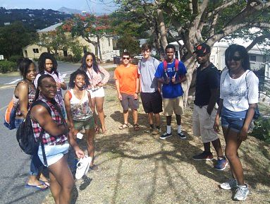 Students in the Virgin Islands